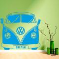 Наклейка на стену Фольксваген Кемпер I VW Camper Front
