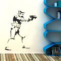 Виниловый декоративный интерьерный стикер Штурмовик
