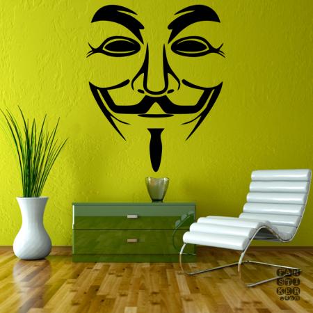 Анонимус. Anonymous sticker