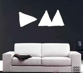 Наклейка для декора Depeche Mode Delta Machine