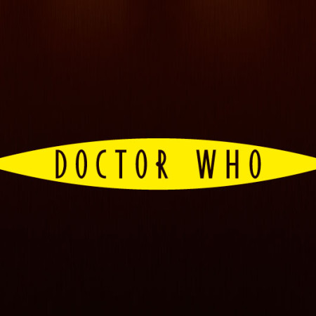 Наклейка виниловая Доктор Кто логотип