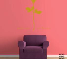Наклейка для декора Depeche Mode Rose.Роза Депеш Мод