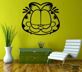 Интерьерная наклейка Кот Гарфилд. Garfield sticker