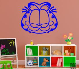 Наклейка Кот Гарфилд. Garfield sticker