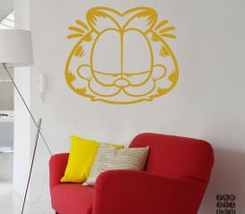 Декоративный принт Кот Гарфилд. Garfield sticker