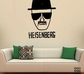 Виниловая наклейка Heisenberg Sketch. Хайзенберг Скетч