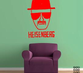 Интерьерная наклейка Heisenberg Sketch. Хайзенберг Скетч