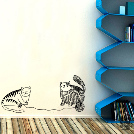 Коты и Клубок