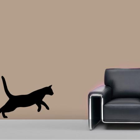 Стикер Прыгающая Кошка
