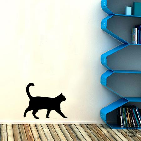 Стикер Гуляющая Кошка