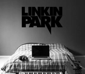 Интерьерная наклейка Линкин Парк. Sticker Linkin Park