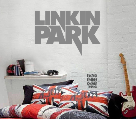 Интерьерная наклейка на стену Линкин Парк. Sticker Linkin Park