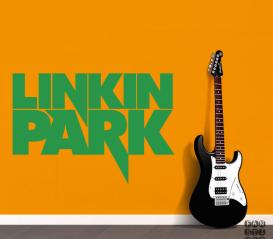 Декоративная наклейка Линкин Парк. Sticker Linkin Park