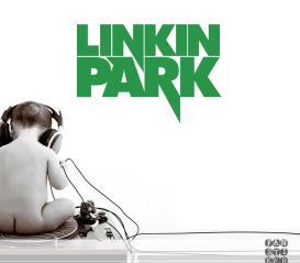 Декоративный стикер Линкин Парк. Sticker Linkin Park