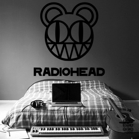Радиохэд. Radiohead sticker.