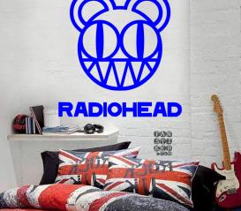 Заказать наклейку Радиохэд. Radiohead sticker.