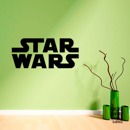 Виниловый стикер Стар Варс логотип