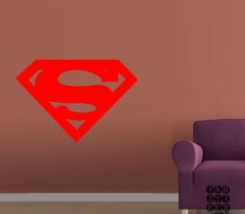 Купить наклейку Логотип Супермен