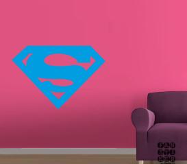 Заказать наклейку Логотип Супермен