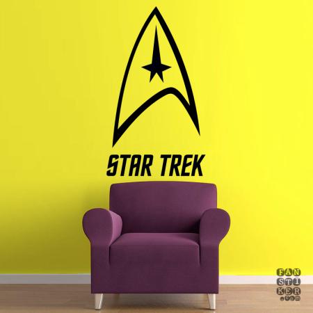 Звездный Путь. Star Trek sticker