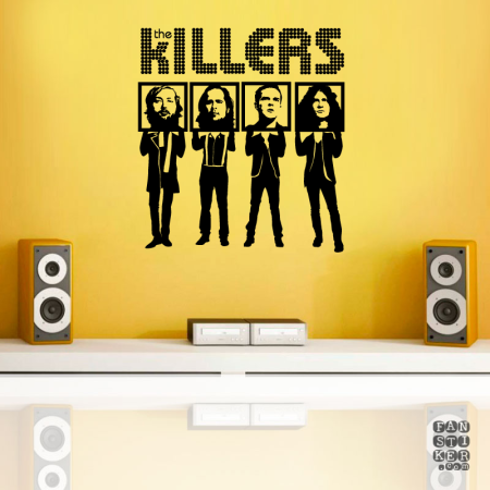 Киллерс. The Killers sticker