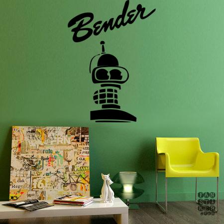 Голова Бендера. Bender's Head sticker
