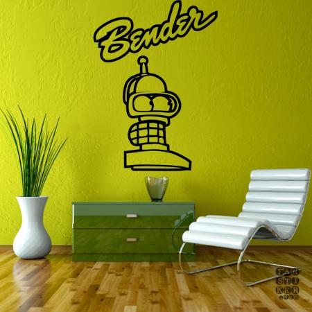 Бендер Постер. Bender Poster sticker