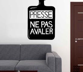 Наклейка Радиохед Presse Ne Pas Avaler sticker