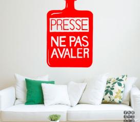 Купить наклейку Радиохед Presse Ne Pas Avaler sticker