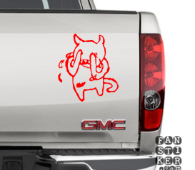Наклейки для автомобилей Плачущий Демон. Demon Crying
