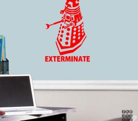 "Декоративная наклейка Далек ""Exterminate"""