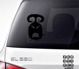 Наклейки на машины Радиохэд Рок. Radiohead Rock sticker