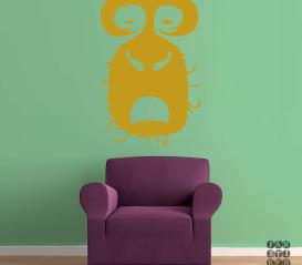 Виниловый декоративный интерьерный стикер Радиохэд Рок. Radiohead Rock sticker
