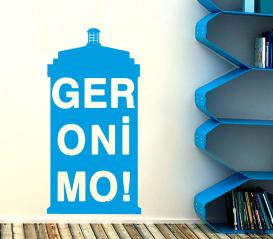 Интерьерная наклейка Джеронимо. Geronimo