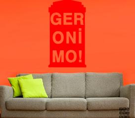 Купить наклейку Джеронимо. Geronimo