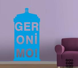 Стикер в интерьер Джеронимо. Geronimo