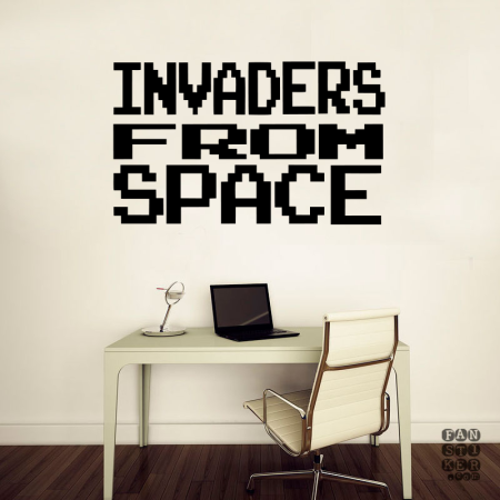 Захватчики из Космоса. Invaders from Space sticker