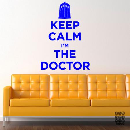 Сохраняйте спокойствие. Я Доктор