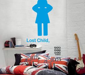 Декоративная наклейка Потеряное Дитя. Lost Child sticker