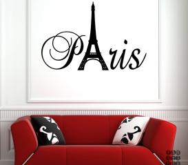Виниловая наклейка Париж