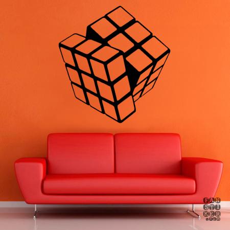 Кубик Рубика.Rubik's Cube sticker