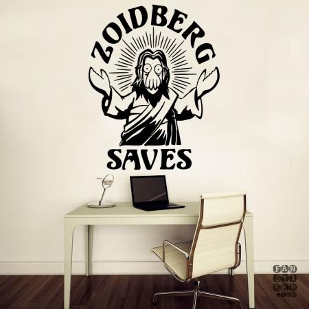 Спаситель Зойдберг. Zoidberg Saves sticker