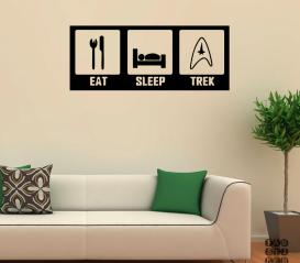 Принт Ешь.Спи.Трек. Eat.Sleep.Trek sticker
