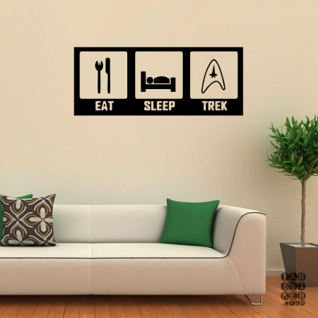 Ешь.Спи.Трек. Eat.Sleep.Trek sticker